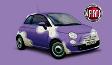 Soutěžte s Milkou a vyhrajte nový vůz Fiat 500!