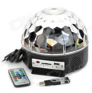 Maraton o disco LED kouli s USB