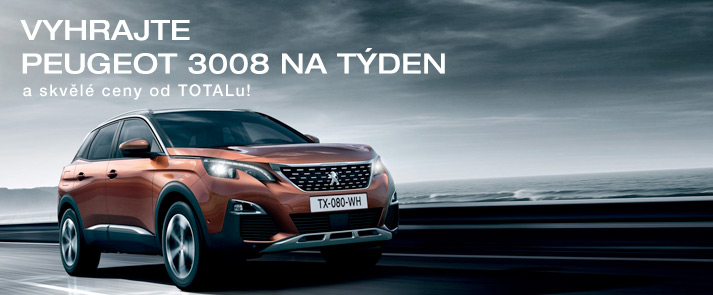 Vyhrajte Peugeot 3008 na týden!
