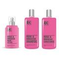 Vyhrajte 3 x balíček vlasové kosmetiky s keratinovým komplexem a extraktem z růží