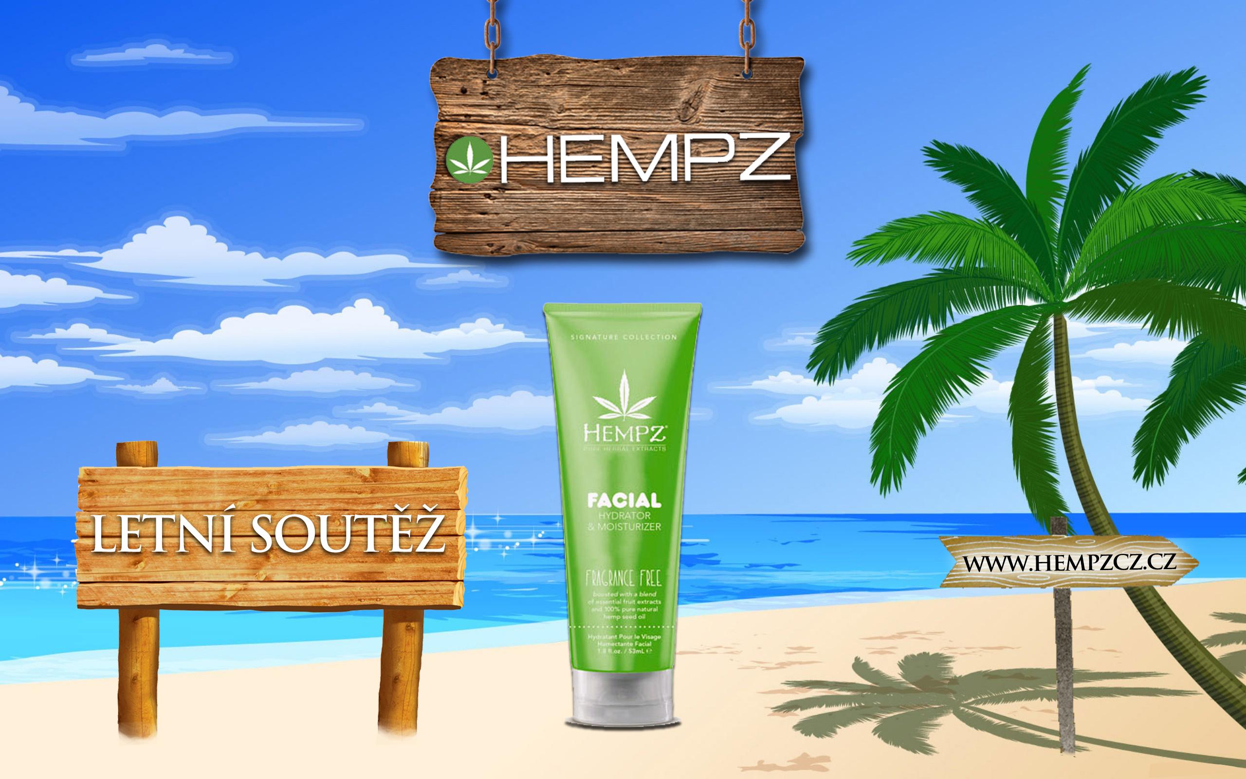 Letní soutěž s kosmetikou HEMPZ