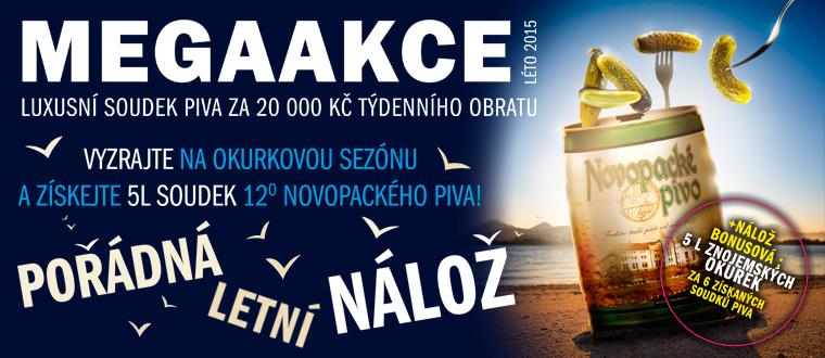 ATC - letní soutěž o soudky Novopackého piva