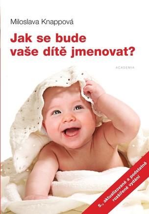 Vyhrajte knihu Jak se bude vaše dítě jmenovat?