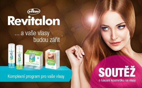 Soutěž o šampon a kondicionér, vlasový aktivátor proti padání vlasů od značky Revitalon