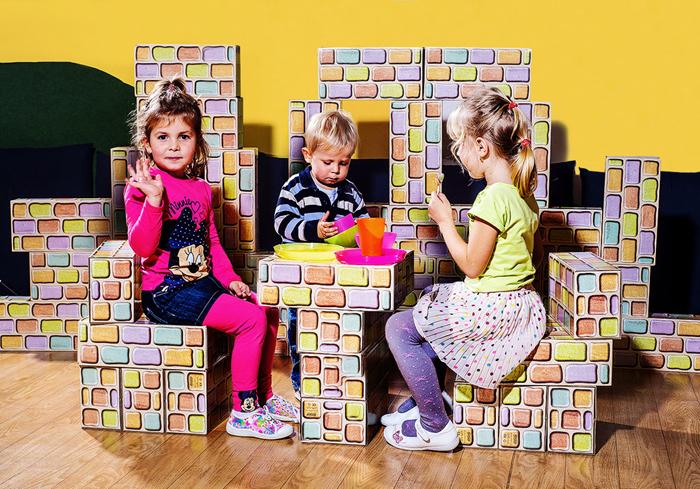 Vyhrajte obří stavebnici Cihličky pro dětičky!