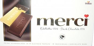 Vyhrajte čokoládu merci!