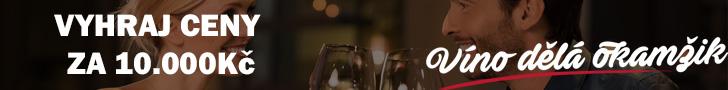 Hrajte o vína v hodnotě 10 000 Kč