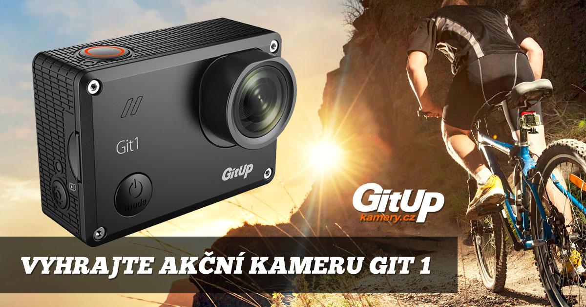 vyhraj outdoorovou kameru GitUp Git1