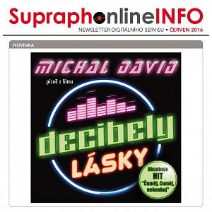 Vyhrajte CD Decibely lásky - Michal David