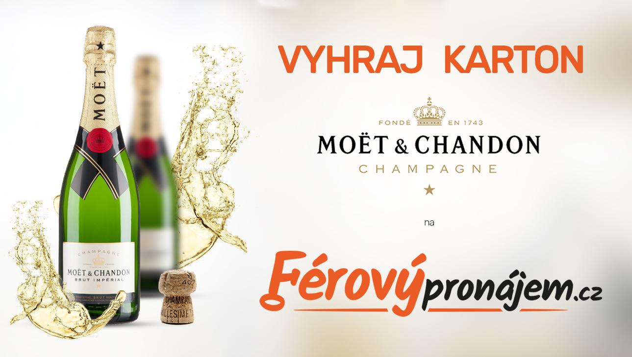 Vyhraj KARTON šampaňského Moët & Chandon