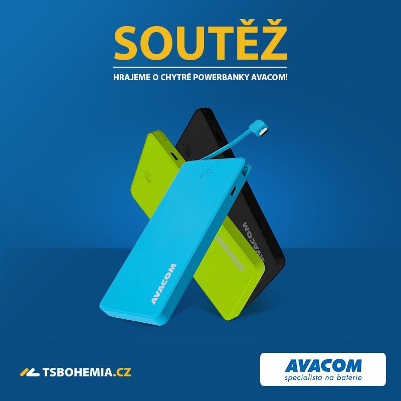 Soutěž o powerbanky Avacom