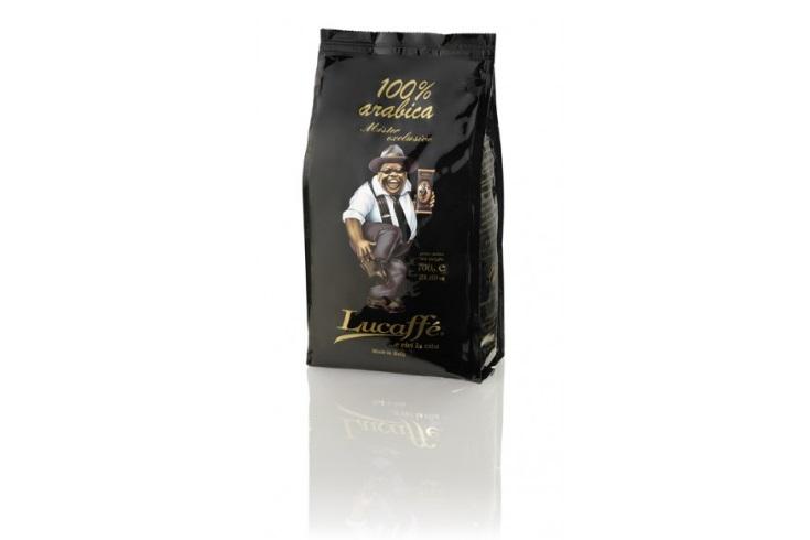 Soutěž luxusní zrnkovou kávu Lucaffe
