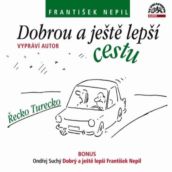 Vyhrajte CD Františka Nepila: Dobrou a ještě lepší cestu!