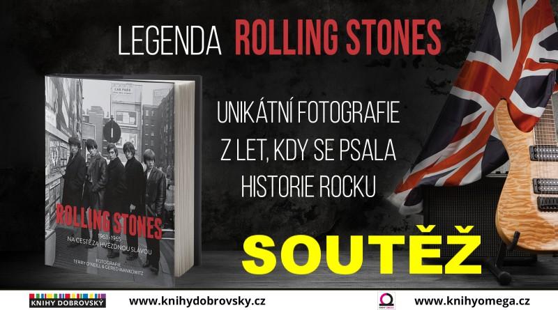 SOUTĚŽ o knihu ROLLING STONES - 1963-1965 Na cestě za hvězdnou slávou