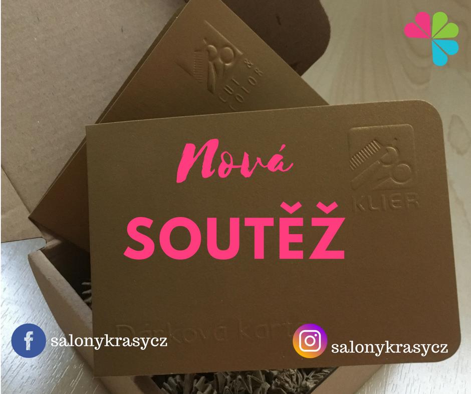 Soutěžte se Salony-krasy.cz o 2 poukázky do kadeřnictví Klier v celkové hodnotě 6000 Kč!