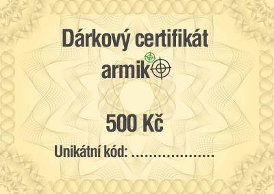 Vyhrajte 500 Kč na nákup do Armik.cz - 5/2018