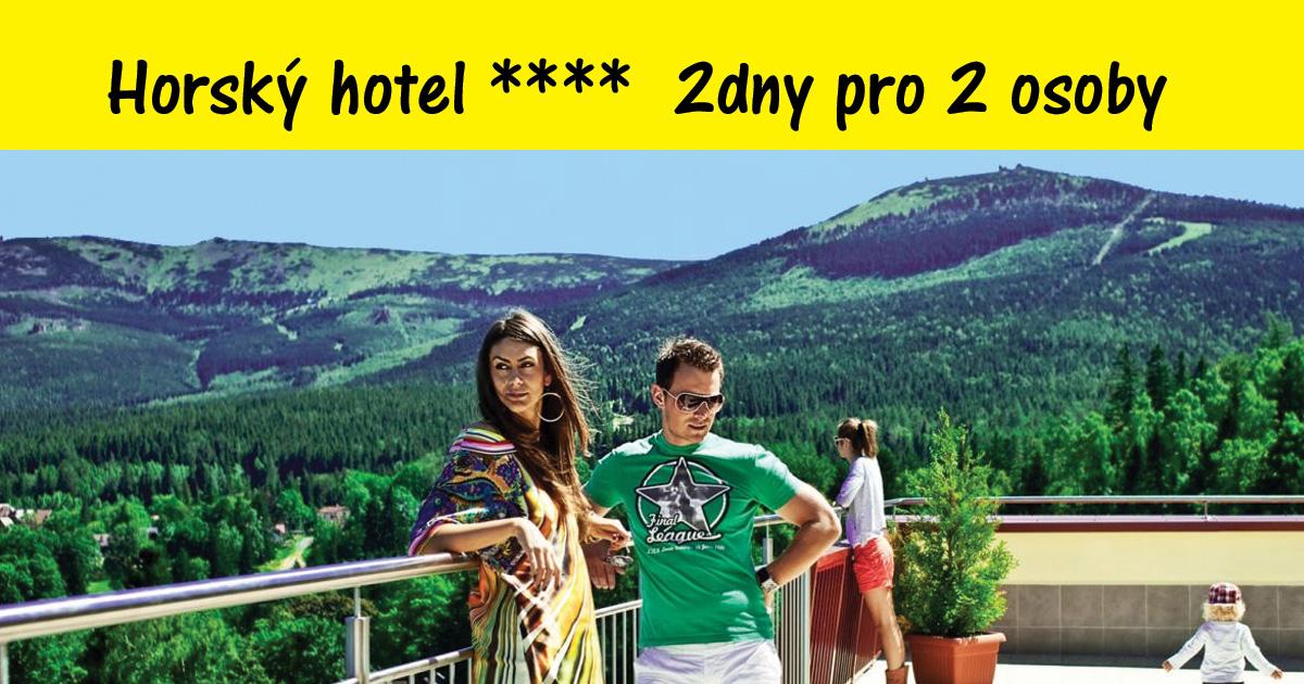 2 dny v horském hotelu ****