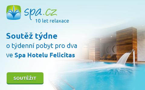 10 let Spa.cz - Soutěž o týdenní pobyt v Poděbradech