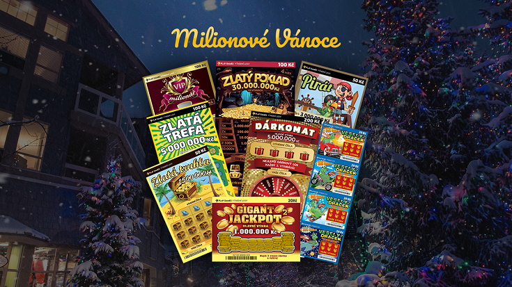 Milionové Vánoce s Play Games. Každý den nová soutěž, hrajeme o 602 cen!