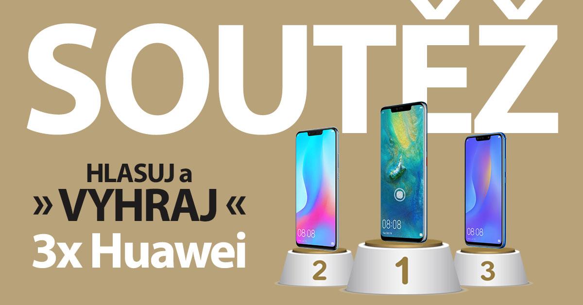 HLASUJ A VYHRAJ 3x Huawei