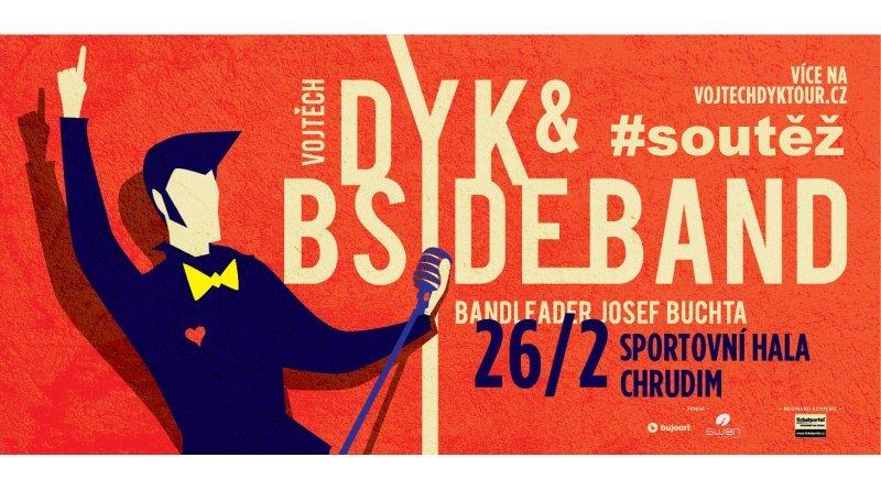 SOUTĚŽ o vstupenky na Vojtu Dyk a B-Side Band v Chrudimi