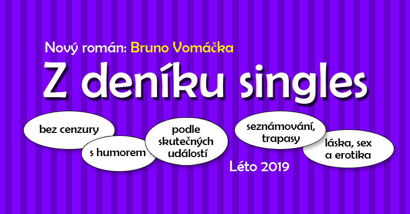 Hlasuj v anketě a vyhraj připravovaný román Z DENÍKU SINGLES