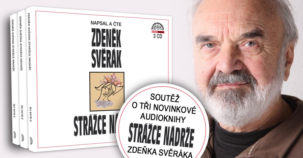 Soutěž o tři audioknižní novinky Zdeňka Svěráka