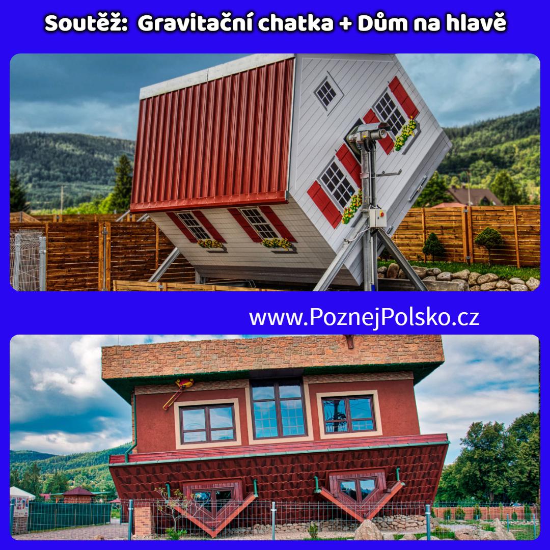 Soutěž s Domem na hlavě a Gravitační chatou o rodinné vstupenky