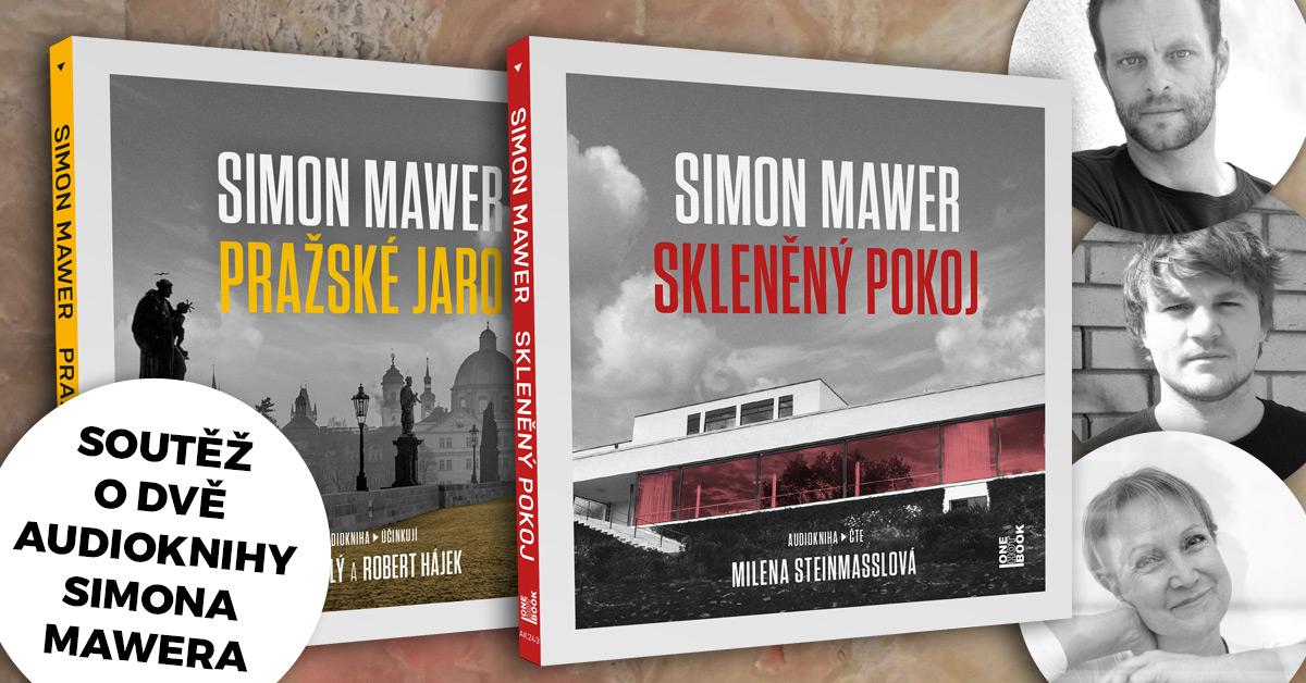 Soutěž o dvě audioknihy Simona Mawera