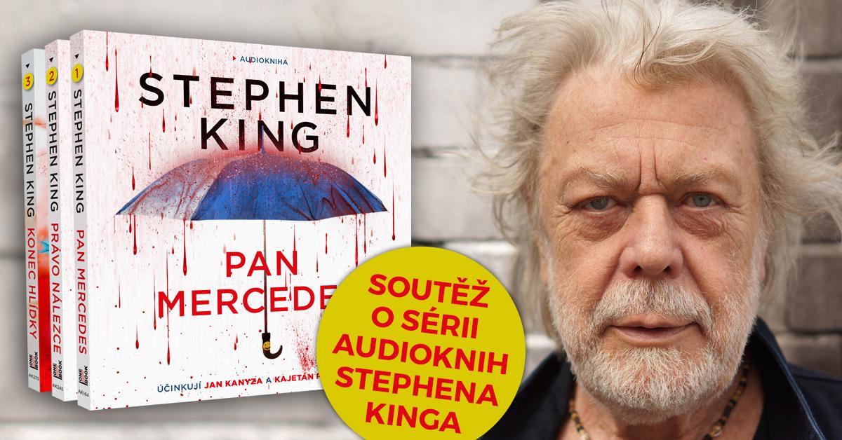 Soutěž o sérii audioknih Stephena Kinga