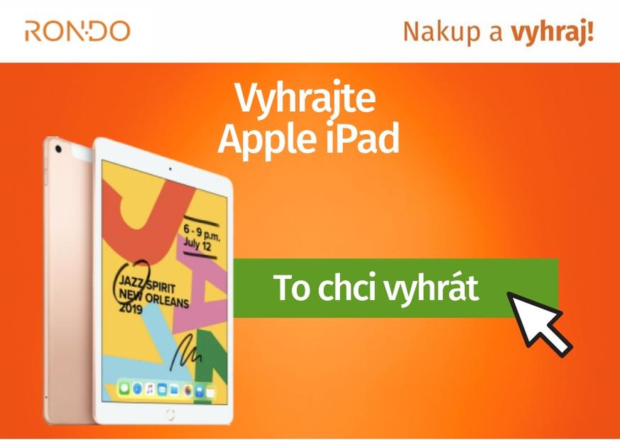 Soutěž o Apple iPad 10,2