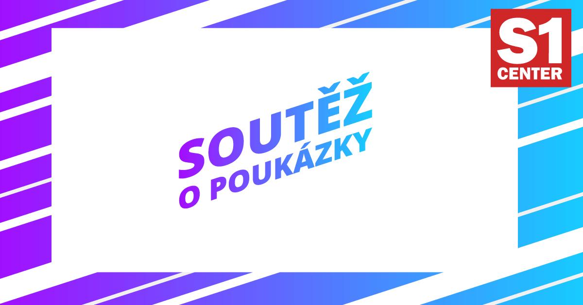Soutěžte s S1 Center Děčín 10 poukázek na nákup!