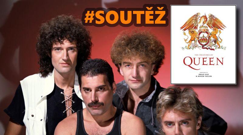 SOUTĚŽ o knihu Tajemství skupiny Queen
